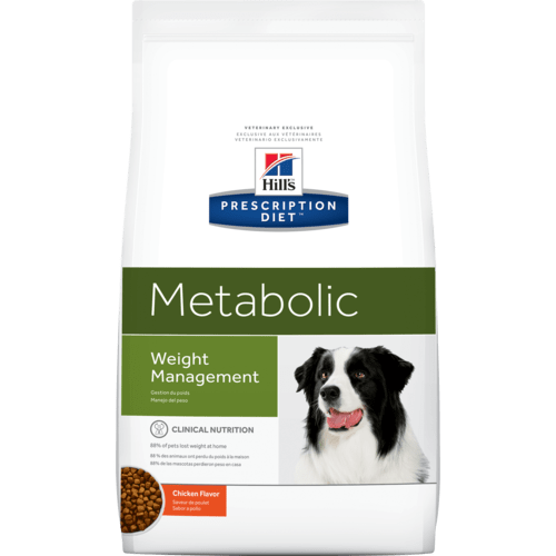 Weight reduction and lifelong maintenance for overweight, obese, and obese prone dogs.