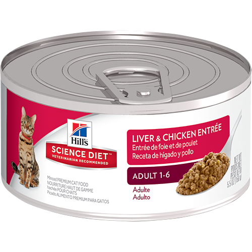 Precisely balanced nutrition with the delicious taste of minced liver & chicken to maintain lean muscle and vital organ health.