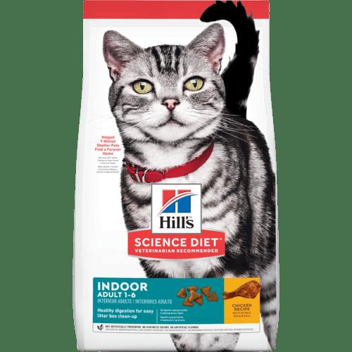 hills science diet senior indoor dry cat food