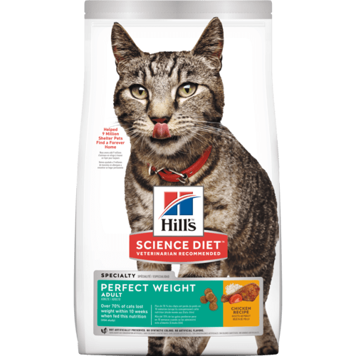 Breakthrough nutrition formulated to help your cat achieve a healthy weight and improve quality of life